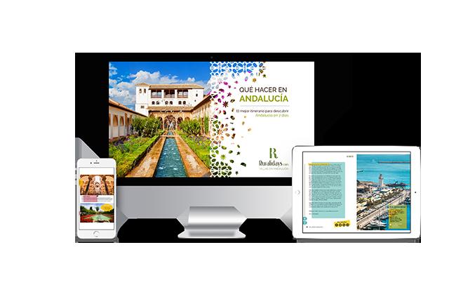 Présentation du guide de Ruralidays sur l'Andalousie